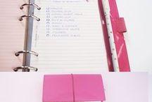 Organización / Organization / Ideas de Organización para la vida en general: casa, tiempo, hogar, escritorio, agenda, proyectos...