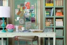 Home Office / Rooms & Decor Inspiration for the Home Office.