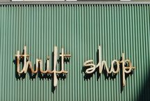 Thrift/Junk Love. / junk. found things. thrift stores. tag sales.