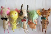 Art - Bears, Bunnies etc