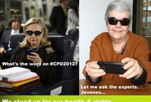 "Texts from #CPD2012 / You've no doubt seen the original ""Texts from Hillary"" meme (textsfromhillaryclinton.tumblr.com), but here's our spin for the UN Commission on Population and Development meeting (23-27 April). More will be added all week. Enjoy! / by IPPF/Western Hemisphere Region"