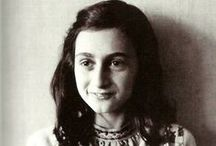 ANNE FRANK / by Ellie Weinstein-Maule