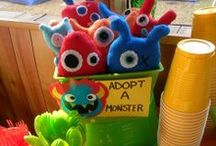 Monster Theme / by Elidet Bordon