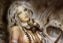 "Luis Royo's Art / ""The most beautiful thing we can experience is the mysterious. It is the source of all true art and all science. He to whom this emotion is a stranger, who can no longer pause to wonder and stand rapt in awe, is as good as dead: his eyes are closed."" - Albert Einstein"