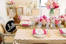 Party Planning Inspirations / by Allison Shoaff