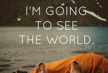 {Travel} Around the world / So much to see, so much to do!