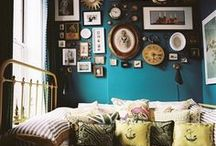 Interior Design / To live in and love. To be messy and creative. Bohemian and trendy. / by Kiersten B