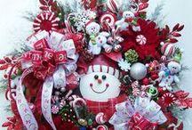 Holiday Wreaths / by Sheri Sisler-Moneymaker