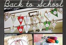Back to School / It's back to school time! Get ready with fun crafts and activities, teacher gift ideas and more school related fun.