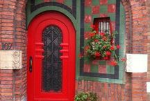 Doors / There are things known and things unknown and in between are the doors. Jim Morrison   / by Peggy Johnson ~Artist