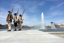 Spring in Pittsburgh / The historic fountain at the westernmost tip of Point State Park, where the Allegheny and the Monongahela join to form the mighty Ohio, returned to the cityscape on April 10, 2014.