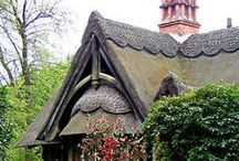 Cottages / May your cottage roof be well thatched and those inside be well matched.  Irish Blessing / by Peggy Johnson ~Artist