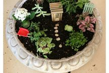 Fairy Garden / Beautiful little fairy gardens and tutorials on how to make your own DIY fairy garden.