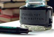 write on. / let nothing stop you.