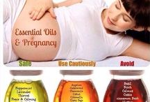 Young living essential oils for pregnancy and children / by Sarah Cook