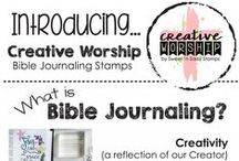SNSS Creative Worship Bible Jounaling / Creative Worship stamps were designed with Bible Journaling in mind, but they can be used for card making, scrapbooking and so much more!