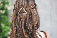 ≈ Accessoires cheveux DIY ≈ / Barrettes, headband, élastiques, serre-têtes et autres accessoires, mais également recettes pour prendre soin de ces cheveux