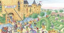 Kleuters- thema Ridders en kastelen
