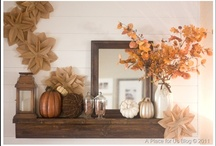 Mantels / Great ideas for mantels for all seasons.