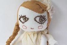 "Dolls cloth softie plush rag dolls / Disclaimer: These are just ""PINS"". I don't claim copyright or ownership of any content on this board. / by Tinsel Fairy"
