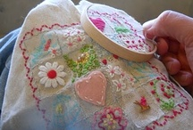 """Needlework Stitcheries & Inspirations, examples / Disclaimer: These are just """"PINS"""". I don't claim copyright or ownership of any content on this board. / by Tinsel Fairy"""