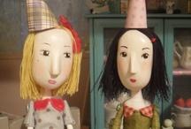 Art Dolls & BJDees / by Tinsel Fairy