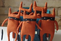 """Fox fox Mr Fox Softie Foxey Plushies / Disclaimer: These are just """"PINS"""". I don't claim copyright or ownership of any content on this board. / by Tinsel Fairy"""