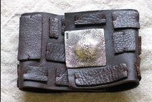 Leather: Made of Leather,  Ideas for Leather, etc / by Lindy's Designs