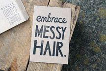 hair && beauty / Beauty and femininity are ageless. / by amy pettit