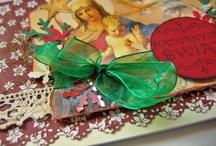 My christmas cards / Moje bożonarodzeniowe kartki :) Author: Monika Korzeniec-Olszewska
