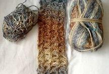 Fibers, crochet, knitting, etc.
