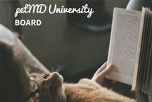 petMD University / We know a lot about pets, but we don't know everything. In our quest to learn ever more stuff, we realized that we could build entire courses on the pet information we were gathering ...    And so, without further ado, we have for you, petMD U! Come on in and sign up for a course today and show off your mad pet skills!