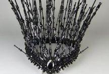 Head Gear / Headdresses, Fascinators, Masks, Crowns, Hair Jewels... / by Anna Kowalik