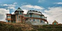 Earthship  and Ocean Container Homes / Homes that are either Earthships or made of ocean containers.