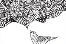 Colouring creativity / How about spending some time & enjoying yourself colouring in?  It really is fun & super relaxing.