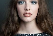 Make Up / #all about beauty #make up #feminine #colours #eyeshadow #lipstick #eyes