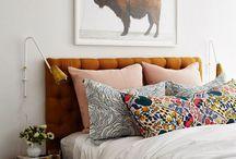 Bedroom Inspiration / inspiriation board for master bedroom spruce up / by Karalee Serra