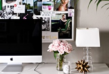 office space. / rooms where any work would be enjoyed. / by kelly  |  kelly's ambitious kitchen