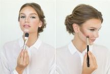 beauty. / hair-dos + party nails + makeup musts. / by kelly  |  kelly's ambitious kitchen