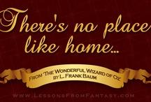 Wizard Of Oz / by Mary Lou Denton