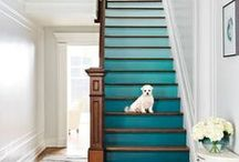 foyers + halls + stairs. /   / by kelly  |  kelly's ambitious kitchen