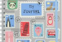 mixed media/collage/journal pages / by Andrea Willey