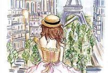 I love Paris / by Jennifer Surkatty