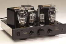 Integrated Amplification  / Glowing tubes, record deck ready, iPod integration, minimal or retro design. Does it exist and can I afford it? / by John Paul Thurlow