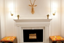 Fireplaces / by Traci Rock
