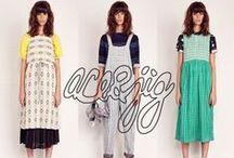 Ace&Jig/エース・アンド・ジグ / Ace&Jig(エース・アンド・ジグ)は ケアリー・ヴォーンとジェンナ ・ウィルソンの二人のデザイナーによって、ニューヨーク(ブルックリン)をベースに2009年に誕生したブランドです。 インドで25年以上の経験を持つ織物の専門家によって作られる独自の糸染料織物を使ったコレクションが人気を集めています。