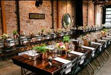 Wedding Theme Board: Industrial / This board has inspiration to create a industrial inspired wedding. From attire, decor, favors, catering and much much more.  / by Chapel of the Flowers