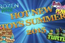 2015 Summer Toy Playlist / These are the top picks for outdoor toys, movie toys, and breakout hits for the Summer 2015 season! Toys from Avengers: Age of Ultron, LEGO, Jurassic World, Minions, Barbie, Nerf, Crayola, and more!