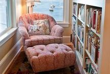 Cozy Book Nooks / Cozy book nooks - perfect for curling up with your favorite book.