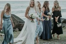Seaside Wedding Inspiration / Weddings by the sea, beach weddings, weddings by lakes and rivers.